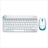 时尚 罗技 MK240无线键鼠套装 迷你 无线键盘鼠标套装   3年产品质保 白色