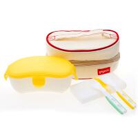 【当当自营】Pigeon贝亲 外出携带餐具套装 DA36 贝亲洗护喂养用品 宝宝餐具/婴儿餐具/儿童餐具