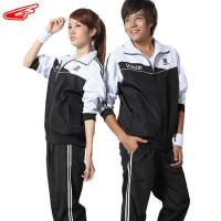 奥鹊运动服春装情侣款运动休闲服团体赛套装 2012T