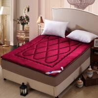 梵巢家纺 榻榻米法莱绒床垫学生宿舍床褥子可折叠单人双人被加厚0.9m/1.5