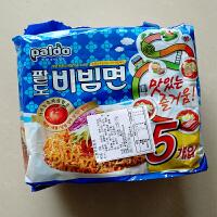 韩国进口方便面八道Paldo韩国干拌面凉拌面速食冷面煮面拉面