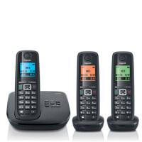 集怡嘉(Gigaset SIEMENS)【西门子】 E710A套机 数字答录无绳电话机德国 录音通话功能 1拖2 1拖3