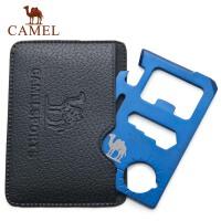 CAMEL骆驼 户外登山露营 多功能工具卡 军刀卡野营卡送卡套不支持货到付款 2SA900