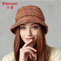 女士帽子 韩版潮渔夫帽女 女贝雷帽 冬季时尚盆帽2333
