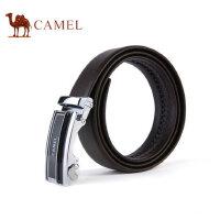 Camel骆驼男士自动扣皮带商务休闲腰带男牛皮青年男版裤带潮
