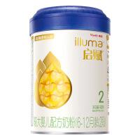 illuma惠氏启赋2段900g罐装 较大婴儿和幼儿配方奶粉适用于6-18月