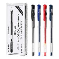 日本三菱UM-100中性笔UM100水笔0.5mm三菱笔