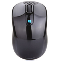 微软(Microsoft) Sculpt 无线便携鼠标 黑色 支持windows8系统哦 附带Nano 接收器,即插即用,蓝影技术