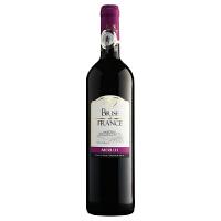 酒美网 法兰西之吻法国干红葡萄酒750ml