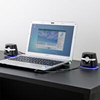 【品牌直供】日本SANWA 400-SP018 电脑迷你音箱喇叭 笔记本电脑音响多媒体台式小音箱迷你低音炮USB