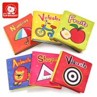 特宝儿 宝宝启蒙婴幼儿 布书 玩具 带响纸儿童0-1-3岁撕不烂系列书籍婴幼儿早教读物婴儿早教 玩具
