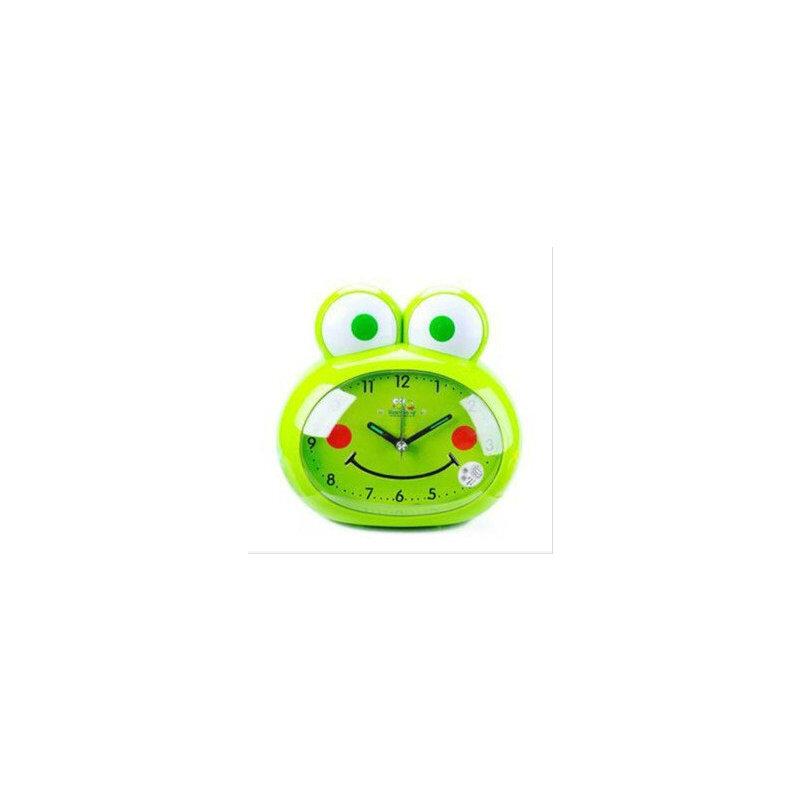 创意家居韩版 可爱卡通青蛙 静音懒人闹钟 时钟