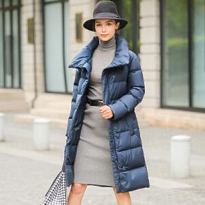 CITYSAILOR 2017秋冬新款韩版女士大面包时尚气质羽绒服外套