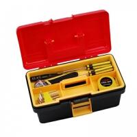 普润 双层工具箱 多用收纳箱 多功能塑铁工具箱 W9207