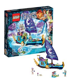 [当当自营]LEGO 乐高 Elves精灵系列 水之精灵娜伊达的史诗历险船 积木拼插儿童益智玩具 41073