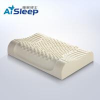 Aisleep睡眠博士 乳胶释压按摩枕头 颈椎枕 乳胶护颈枕  成人枕 60*40*10/12cm