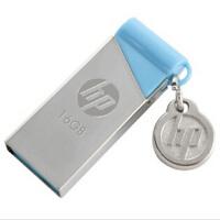 惠普(HP)U盘 v215b 16G 小清新金属银色16GB 金属机身 无盖设计