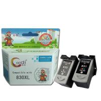 彩帝 兼容 佳能 PG830 CL831墨盒 适用于Canon     IP1180     IP1880       IP2580打印机用墨盒