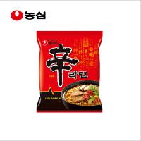 韩国进口食品 农心 牌辛拉面120g/袋