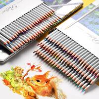 现货  !秘密花园 涂色笔 MARCO马可7100绘画彩色铅笔 24 36 48 72色油性彩铅 纸盒装,白松木材 手感 、环保银漆工艺、彩芯颜色鲜艳纯正,马可7100-72CB!